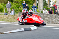 TT 2012 Sidecar practice, May 29